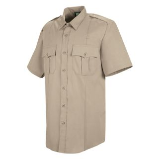 HS1211 New Dimension Stretch Poplin Short Sleeve Shirt-