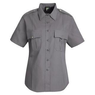 HS1267 New Dimension Stretch Poplin Short Sleeve Shirt