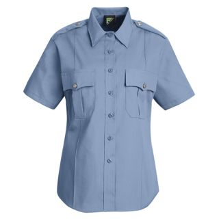 HS1268 New Dimension Stretch Poplin Short Sleeve Shirt-Horace Small®