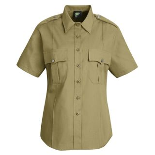HS1269 New Dimension Stretch Poplin Short Sleeve Shirt-