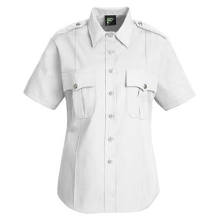 HS1270 New Dimension Stretch Poplin Short Sleeve Shirt-