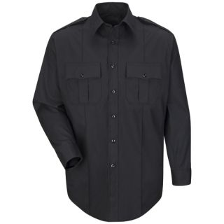 Horace Small® New Dimension Plus Shirts New Dimension Plus Long Sleeve Poplin Shirt-Horace Small®