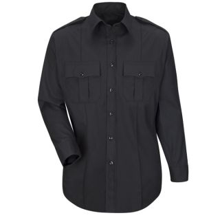 HS1521 New Dimension Plus Long Sleeve Poplin Shirt-Horace Small®