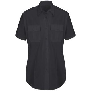 HS1523 New Dimension Plus Short Sleeve Poplin Shirt-Horace Small®