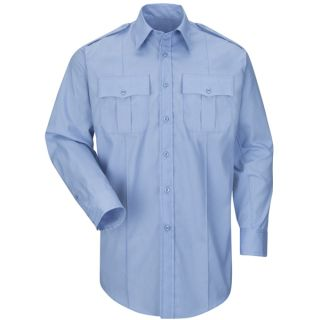 HS1524 New Dimension Plus Long Sleeve Poplin Shirt-Horace Small�