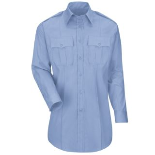 HS1525 New Dimension Plus Long Sleeve Poplin Shirt