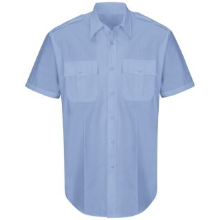 HS1526 New Dimension Plus Short Sleeve Poplin Shirt-Horace Small®