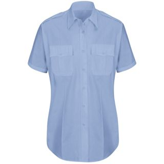 HS1527 New Dimension Plus Short Sleeve Poplin Shirt