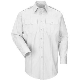 HS1528 New Dimension Plus Long Sleeve Poplin Shirt-Horace Small®