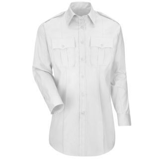 HS1529 New Dimension Plus Long Sleeve Poplin Shirt-Horace Small®