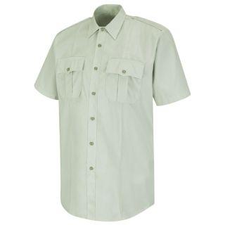 HS1549 New Dimension Stretch Poplin Short Sleeve Shirt