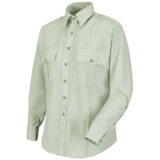 New Dimension Poplin Long Sleeve Shirt-