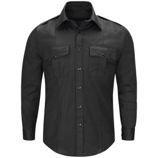 HS1602 Mens Dutyflex Long Sleeve Shirt with Zipper
