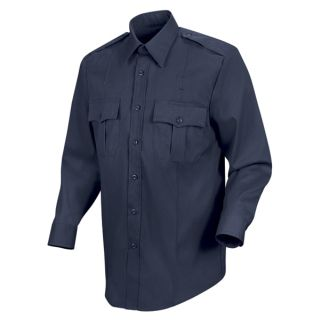 100% Cotton Button-Front Shirt-Horace Small®