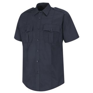 HS1715 100% Cotton Button-Front Shirt-