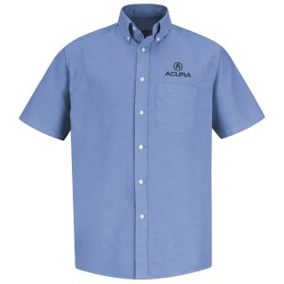 Acura M SS Oxford Shirt -LB-Red Kap®