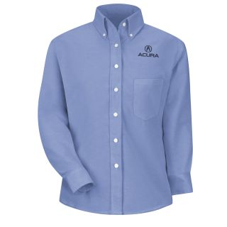 Acura Womens Long Sleeve Executive Oxford Dress Shirt - 1114LB-