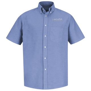 Acura Accelerated M SS Oxford Shirt -LB-Red Kap®