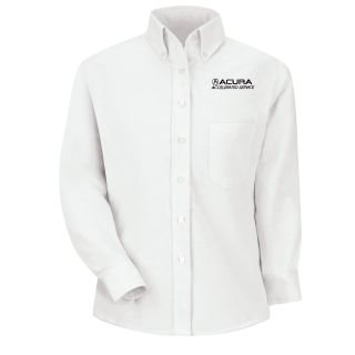 Acura Accelerated Womens Long Sleeve Executive Oxford Dress Shirt - 1128WH-