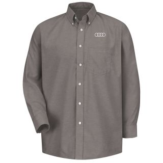 Audi M LS Oxford Shirt -GY-Red Kap®
