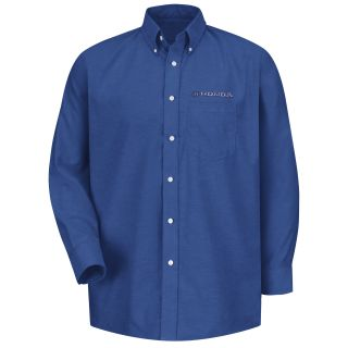 Honda M LS Oxford Shirt -FB-Red Kap®