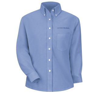 Honda Womens Long Sleeve Executive Oxford Dress Shirt - 1271LB-