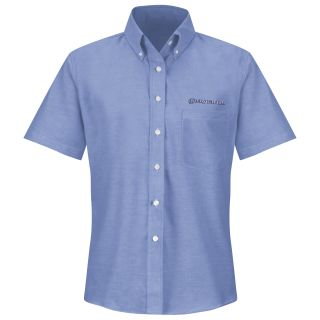 Honda Womens Short Sleeve Executive Oxford Dress Shirt - 1272LB-
