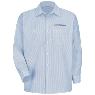 Honda M LS Stripe Workshirt - WB-