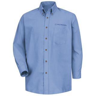 Honda Mens Long Sleeve Poplin Dress Shirt - 1277LB-