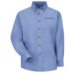 Honda Womens Long Sleeve Poplin Dress Shirt - 1281LB-
