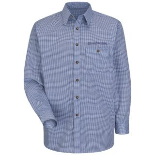 Honda M LS Mini Plaid Shirt - WB-Red Kap®