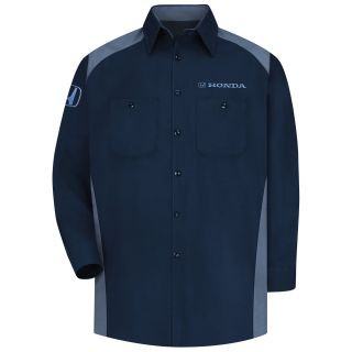 Honda Mens Long Sleeve Motorsports Shirt - 1294NP-