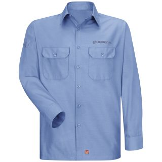 1297LB Honda M LS Ripstop Workshirt - LB-Red Kap®