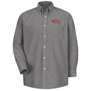 Kia M LS Oxford Shirt -GY-
