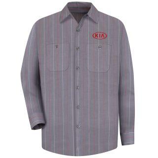 Kia M LS Workshirt - CR-Red Kap®