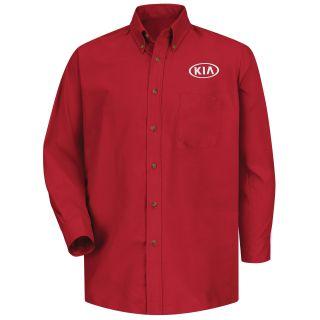 Kia M LS Poplin Shirt - RD-