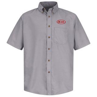 Kia M SS Poplin Shirt - SV-Red Kap®