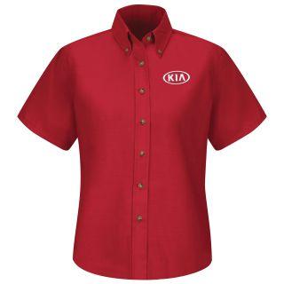 Kia F SS Poplin Shirt - RD-