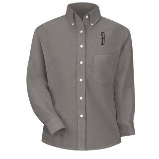 Lincoln Womens Long Sleeve Executive Oxford Dress Shirt - 1409GY-