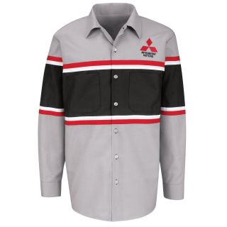 Mitsubishi M LS Workshirt - GM-Red Kap®