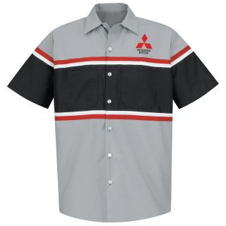 Mitsubishi Long Sleeve Technician Shirt - 1444GM-