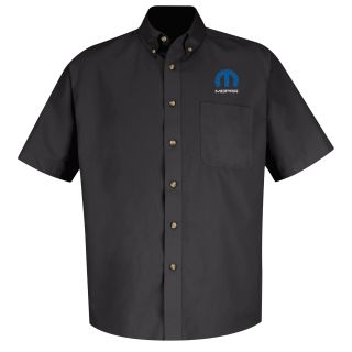 Mopar Mens Long Sleeve Meridian Performance Twill Shirt - 1449BK-