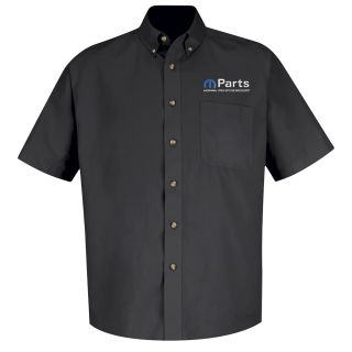 Mopar Mens Long Sleeve Meridian Performance Twill Shirt - 1450BK-