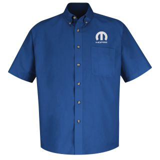 Mopar Mens Long Sleeve Meridian Performance Twill Shirt - 1452RB-