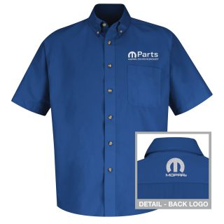 Mopar Mens Long Sleeve Meridian Performance Twill Shirt - 1454RB-