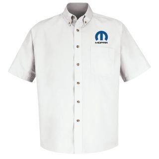 Mopar M SS Twill Shirt - WH-