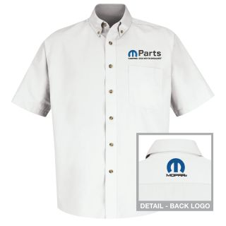 Mopar Mens Long Sleeve Meridian Performance Twill Shirt - 1457WH-