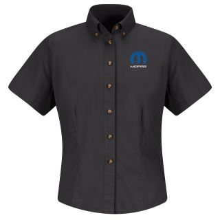 Mopar Womens Long Sleeve Meridian Performance Twill Shirt - 1458BK-