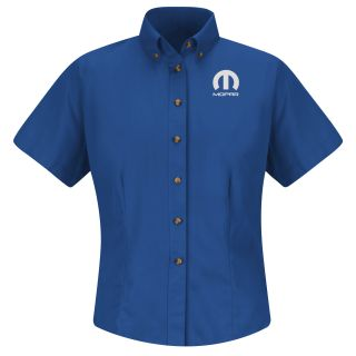 Red Kap® Branded Industrial Auto Mopar F SS Twill Shirt - RB-Red kap