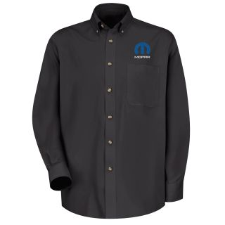 Mopar Mens Long Sleeve Meridian Performance Twill Shirt - 1467BK-